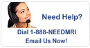Need Help? Call 1-888-needmri