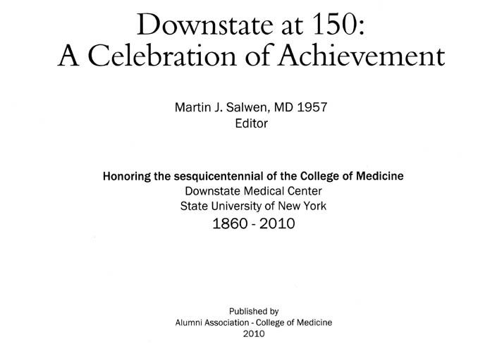 SUNY Downstate at 150: A Celebration of Achievement