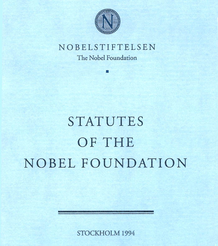 Statues of the Nobel Foundation-cover